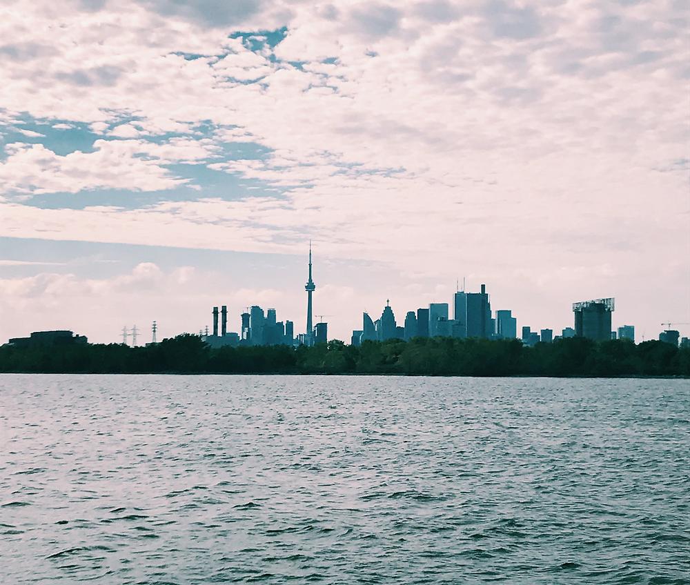 Atardecer en Toronto