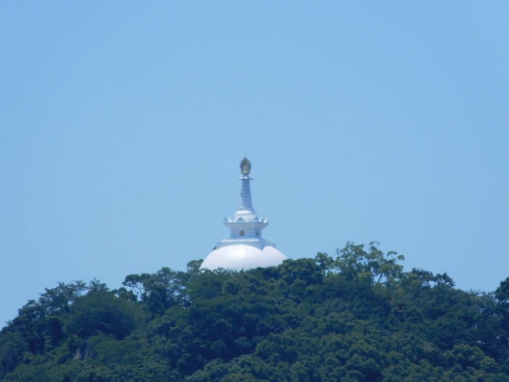 Pagoda en las montañas