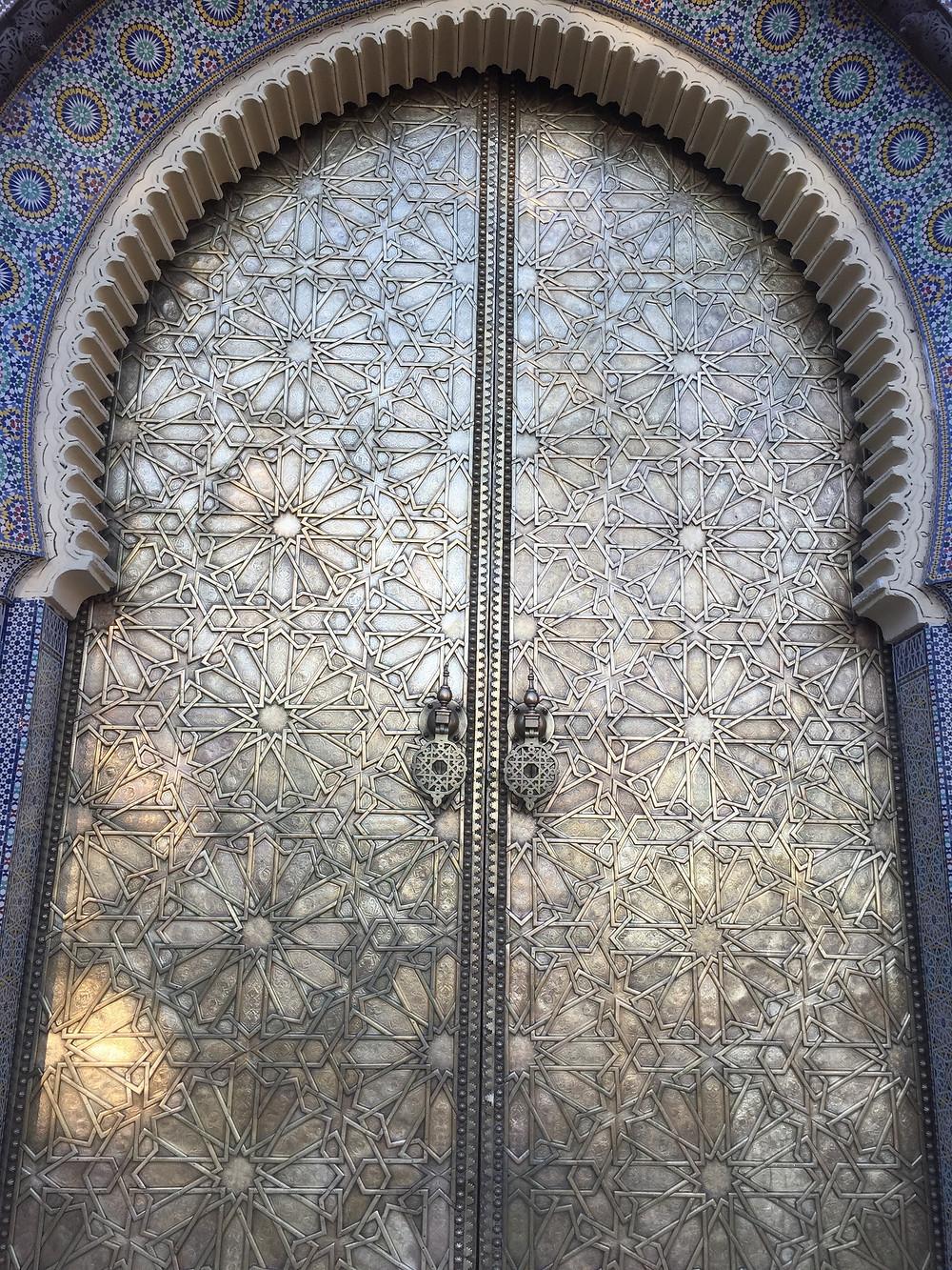 Puertas del Palacio de Fes