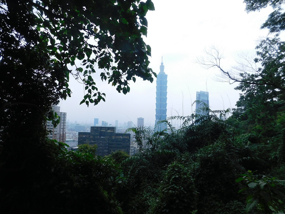 Taipei 101 desde Elephant Mountain Trail