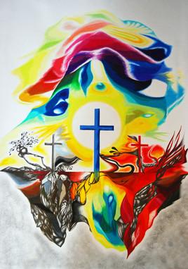 Die drei Kreuze auf Golgatha (2021)