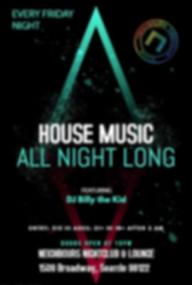Neighbours Nightclub Friday C89.5 House Music Dj Billy The Kid