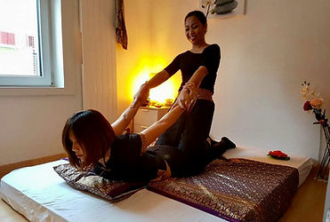 traditionelle Thaimassage 1