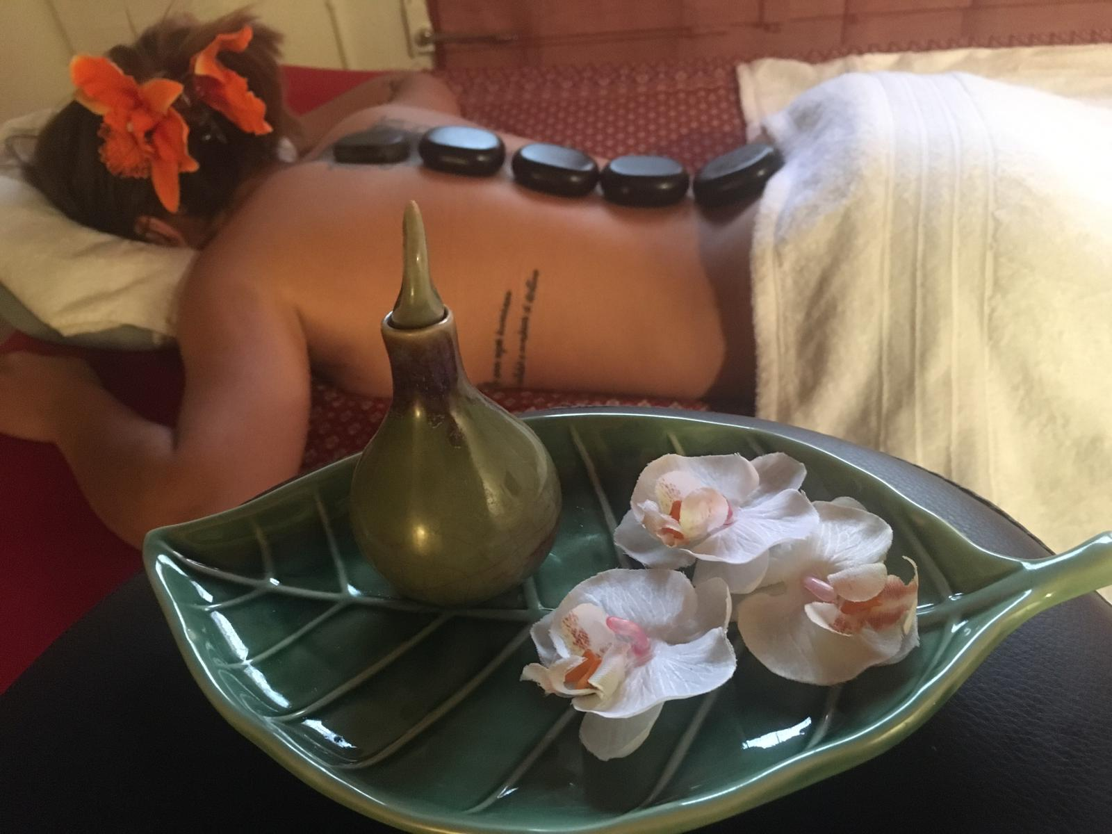 Hot Stone Massage 4
