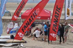 Zeilwedstrijd zandvoort