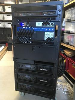 Rack voor vaste installatie