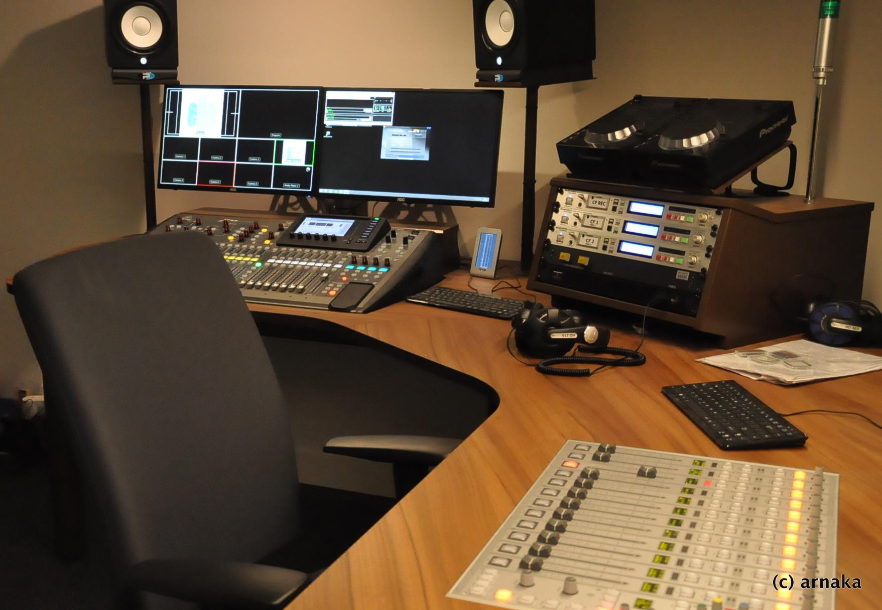 Nieuwe studio Radio Bloemendaal
