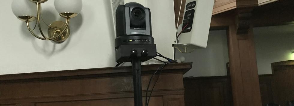 Remote controlled camera