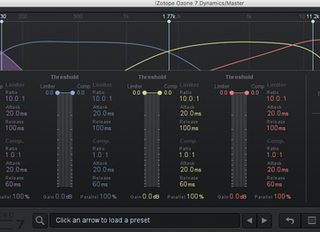 Level your bass in Mastering with Multiband Compressor