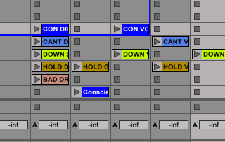 Ableton Tip : Using scenes to change bpm automatically