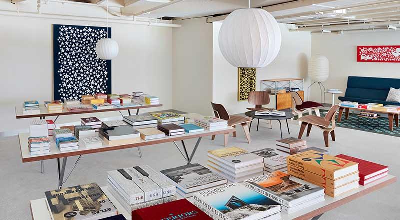 The TWA Hotel Reading Room