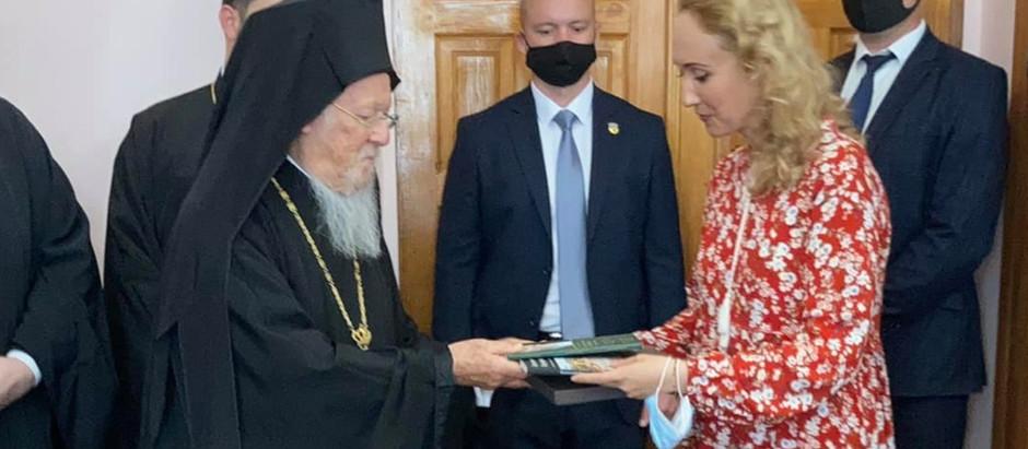 Зустріч грецької діаспори України з Вселенським Патріархом Варфоломієм