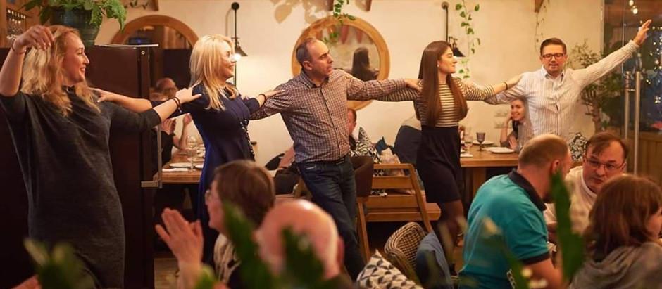 Запрошуємо на наші заняття з традиційного грецького танцю