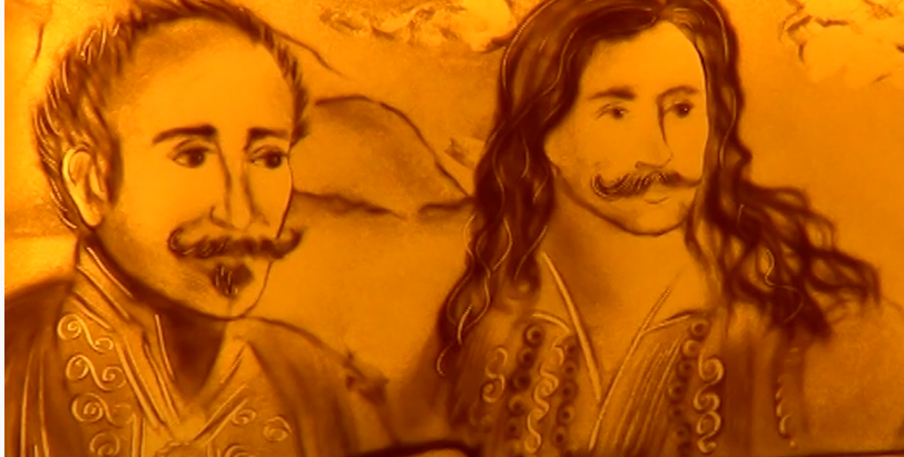 Пісочна анімація присвячена 200-річчю початку Грецької революції