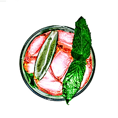 Strawberry Water 24oz