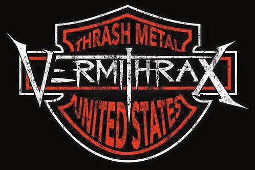 Vermithrax Biker Logo T-Shirt