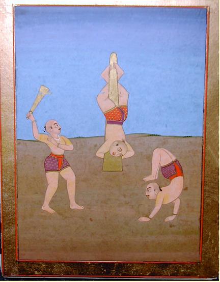 ragamala series. Desakh Ragini. Jaipur,