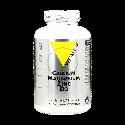 Calcium magnésium zinc bisglycinate & D3