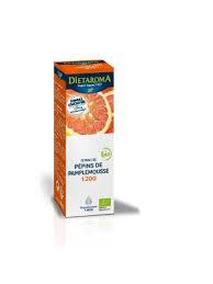 Extrait pépin de pamplemousse bio 1200 mg de bioflavonoïdes