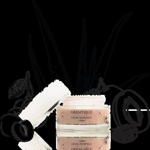 Crème gommante douceur pour visage