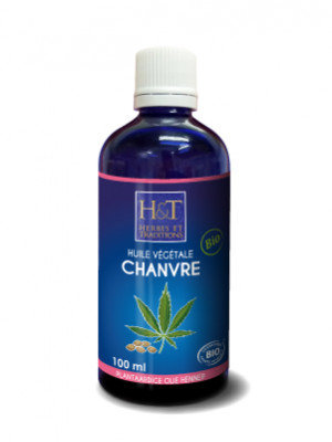 Huile végétale de Chanvre bio