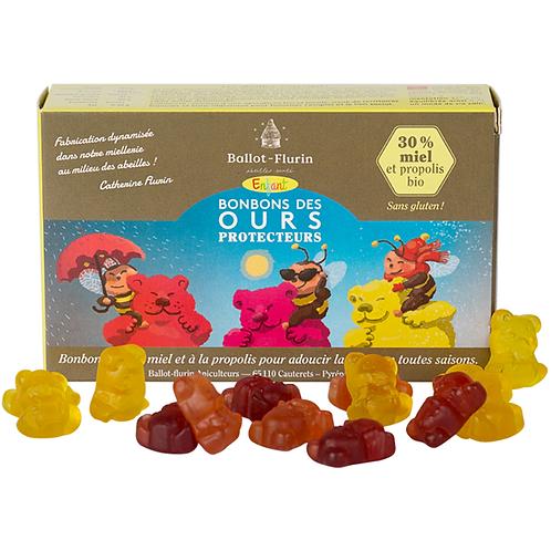 Bonbons enfant des ours propolis bio