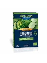 Radis noir & artichaut bio (concentré intégral de plantes