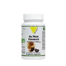 Ail noir fermenté bio 600 mg extrait standardisé