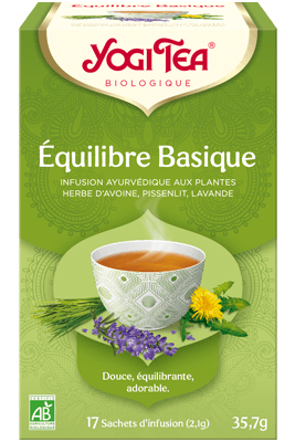 Yogi Tea Équilibre Basique Bio