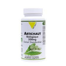 Artichaut bio 500 mg extrait standardisé