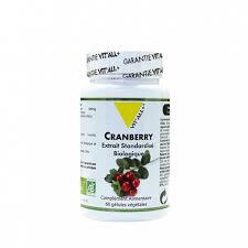Cranberry bio 400 mg extrait standardisé