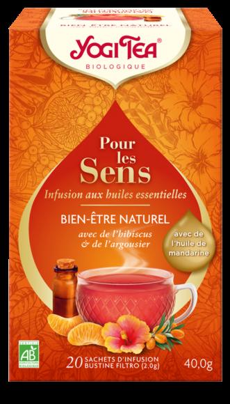 """Yogi Tea  """"Pour les sens"""" Bien-être naturel Bio"""