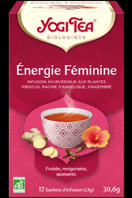 Yogi Tea Énergie Féminine Bio