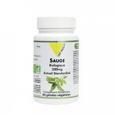 Sauge bio 200 mg extrait standardisé