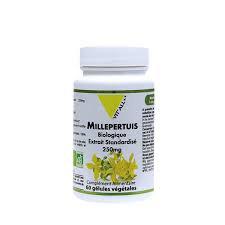 Millepertuis bio 250 mg extrait standardisé