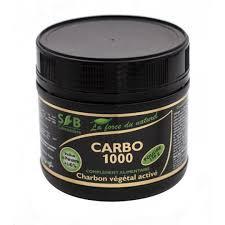 Charbon végétal activé carbo 1000
