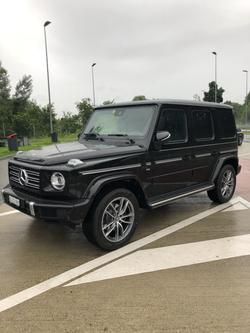 Mercedes Classe G vue de gauche