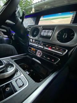 Mercedes Classe G unité centrale