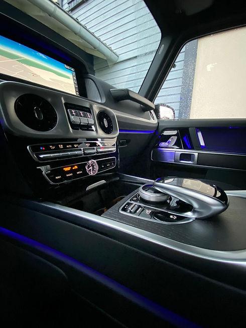 Mercedes Classe G commandes.JPG
