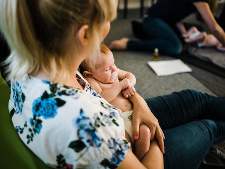 What REALLY Happens at a Baby Massage Class