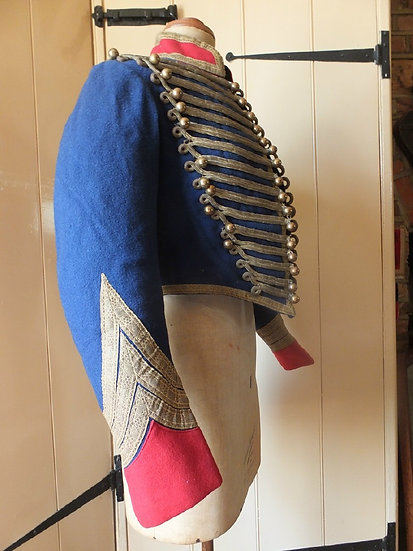 A Flamboyant Hussar Tunic, of the late 19th Century