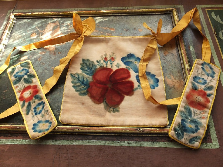 Rare & Romantic Theorem Regency work bag & cuffs