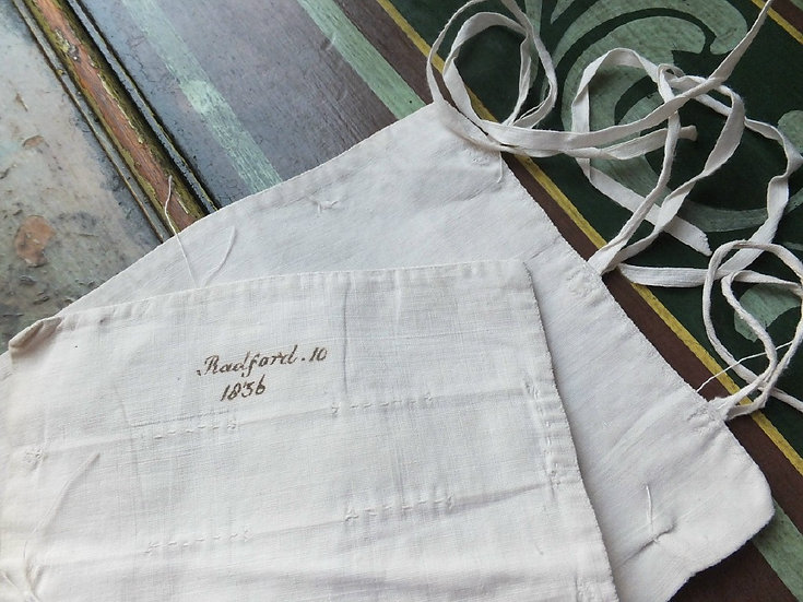 A little niche: Dated 1836 Baby Binder [B] The Radford Family Infant