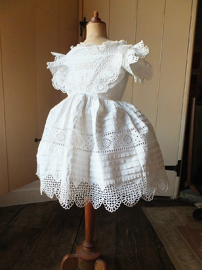Sweetest 1850's Crinoline Frock for Tiny Tot!