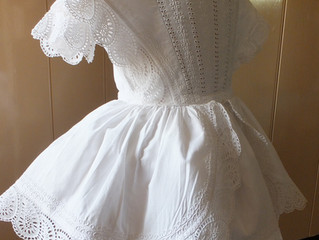 The iconic crinoline frock - for a boy methinks!
