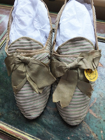 Afternoon Tea in the 18th Century. The shoes Elizabeth wore?