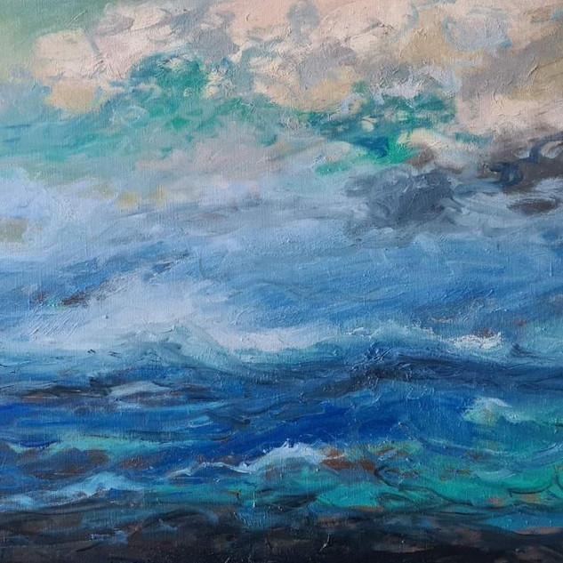 Brusende hav