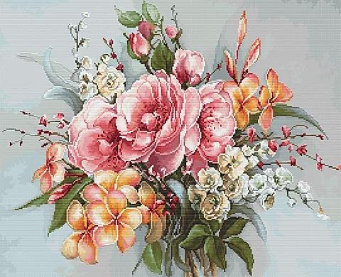 BA2364 Flower bouquet - Cross Stitch Kit