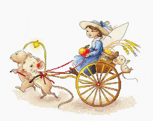 B1170 Fairy with Mice