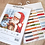 Thumbnail: LETI 919 Santa Claus and Snowman - Cross Stitch Kit LETISTITCH